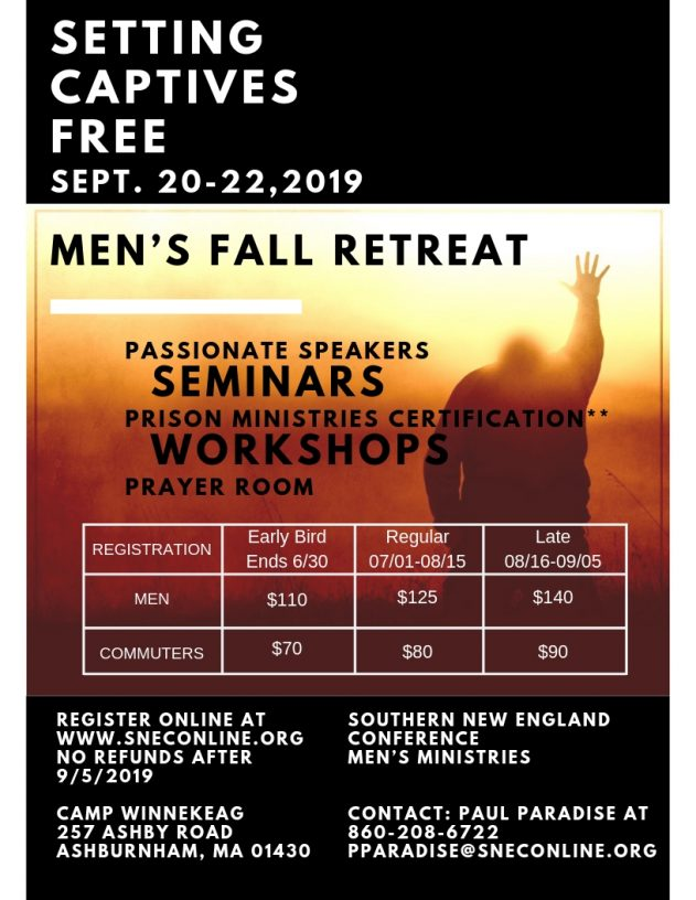Men's Retreat Flyer | 2019